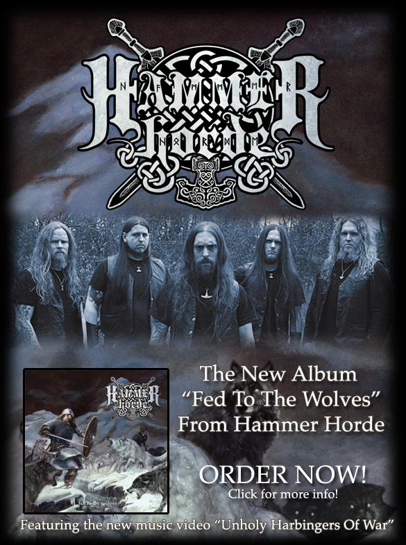 Hammer Horde - Fed To The Wolves - Pre-order NOW!